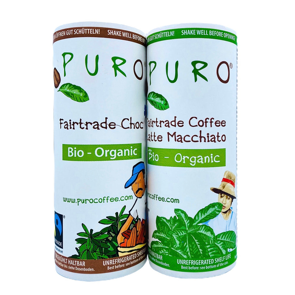 Load image into Gallery viewer, Puro Bio-Organic Fairtrade Belgian Chocolate Drink 230ml