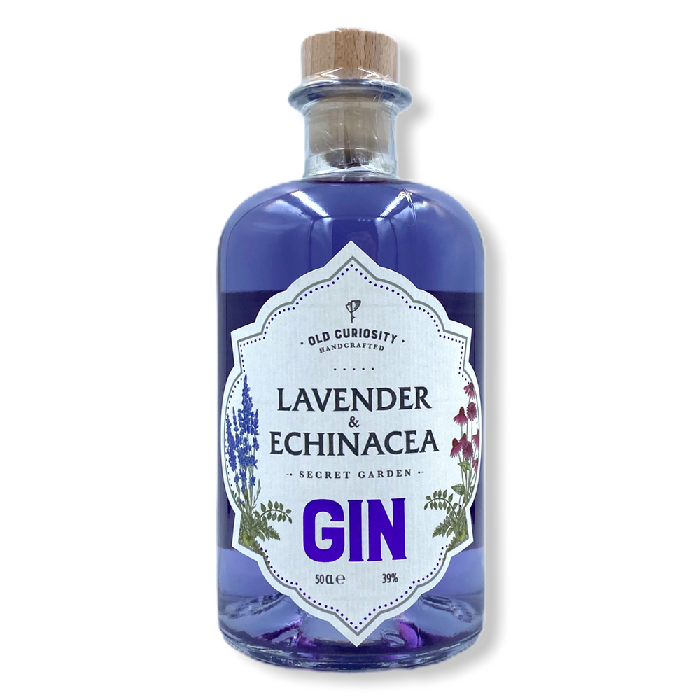 Old Curiosity Lavender and Echinacea Gin - 500ml