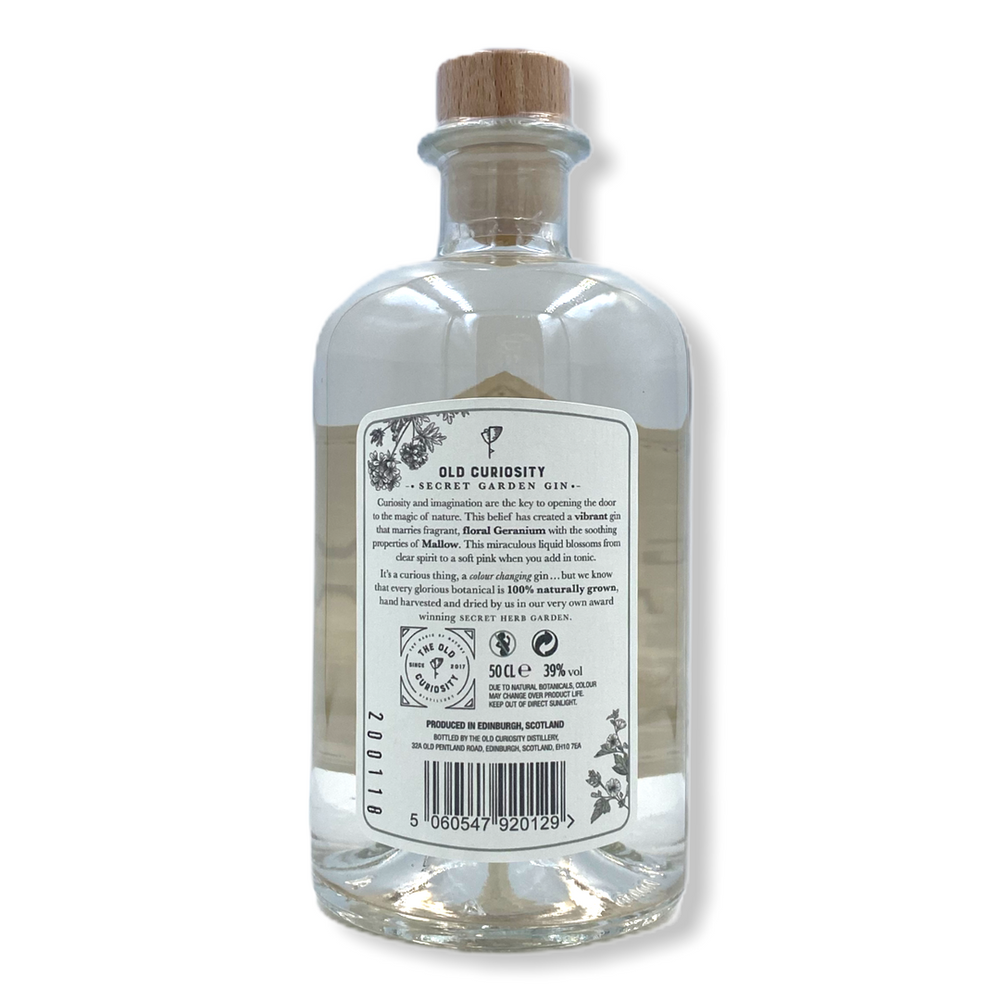 Old Curiosity Geranium and Mallow Gin - 500ml