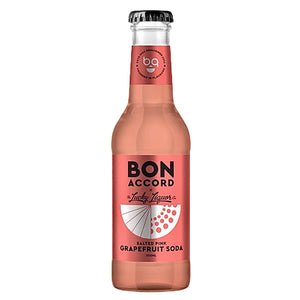 Bon Accord Salted Pink Grapefruit Soda 200ml