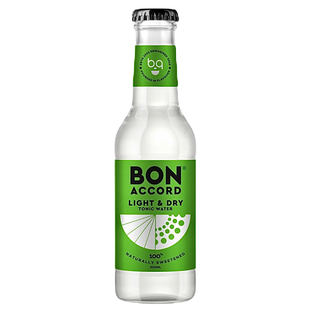 Bon Accord Tonic Water (Light & Dry) 200ml
