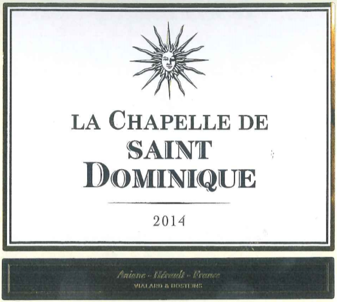 La Chapelle De Saint Dominique 2014 (750ml) / La Chapelle De Saint Dominique 2004 (1500ml)
