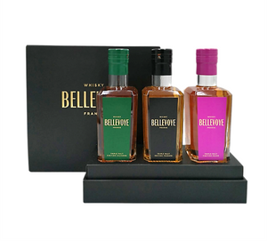 Load image into Gallery viewer, Bellevoye Tricolour French Whisky Premium Gift Box