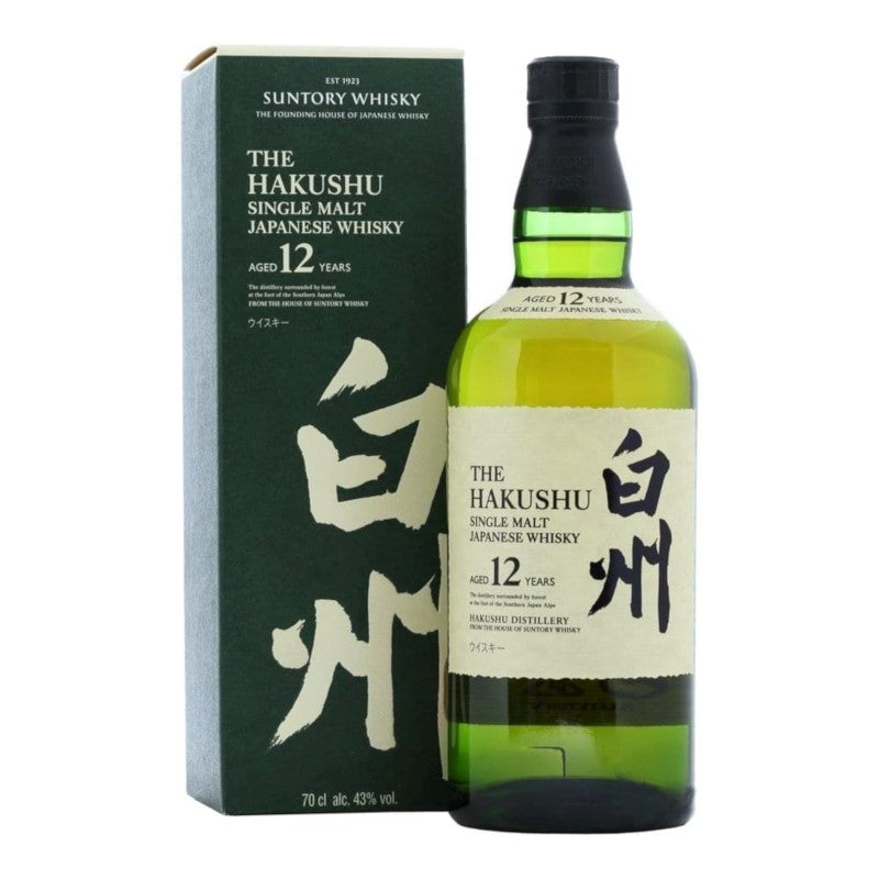 The Hakushu Single Malt Whisky Aged 12 Years