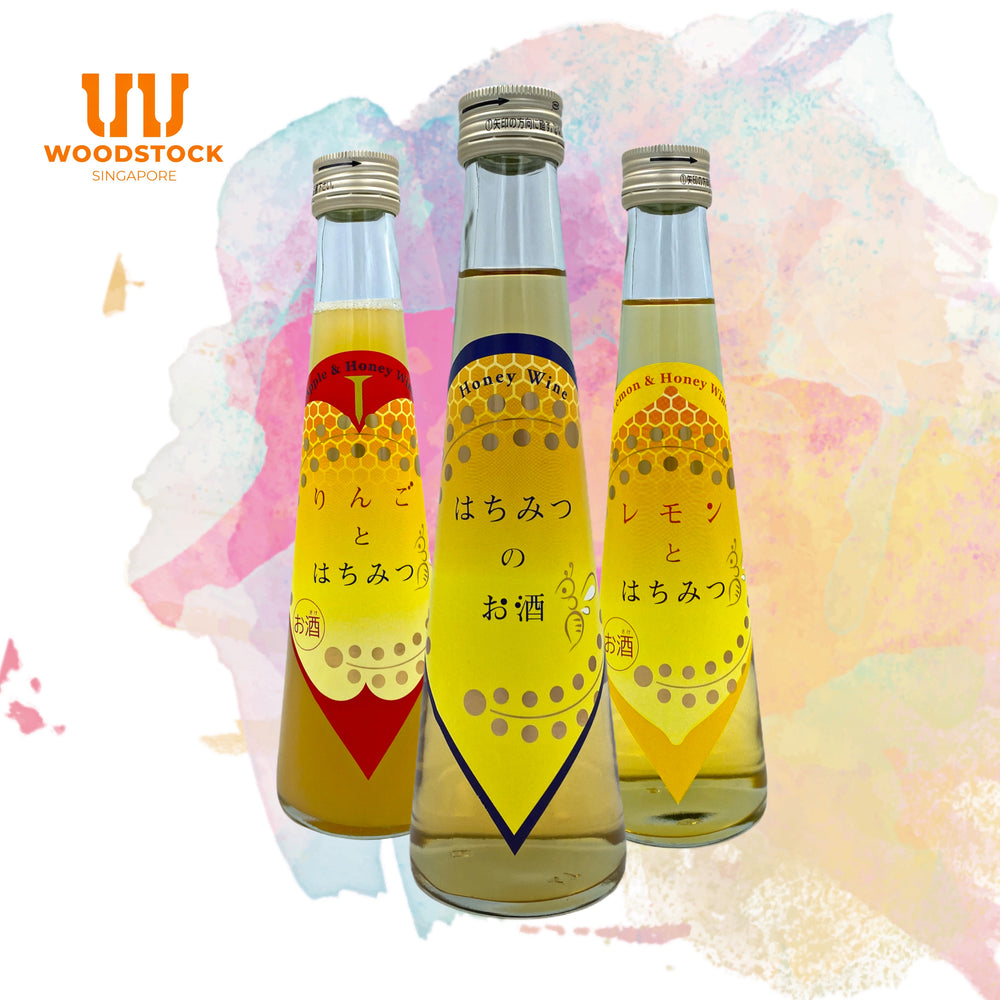 Load image into Gallery viewer, Honey Mead Tasting Sake Set - 200ml x3