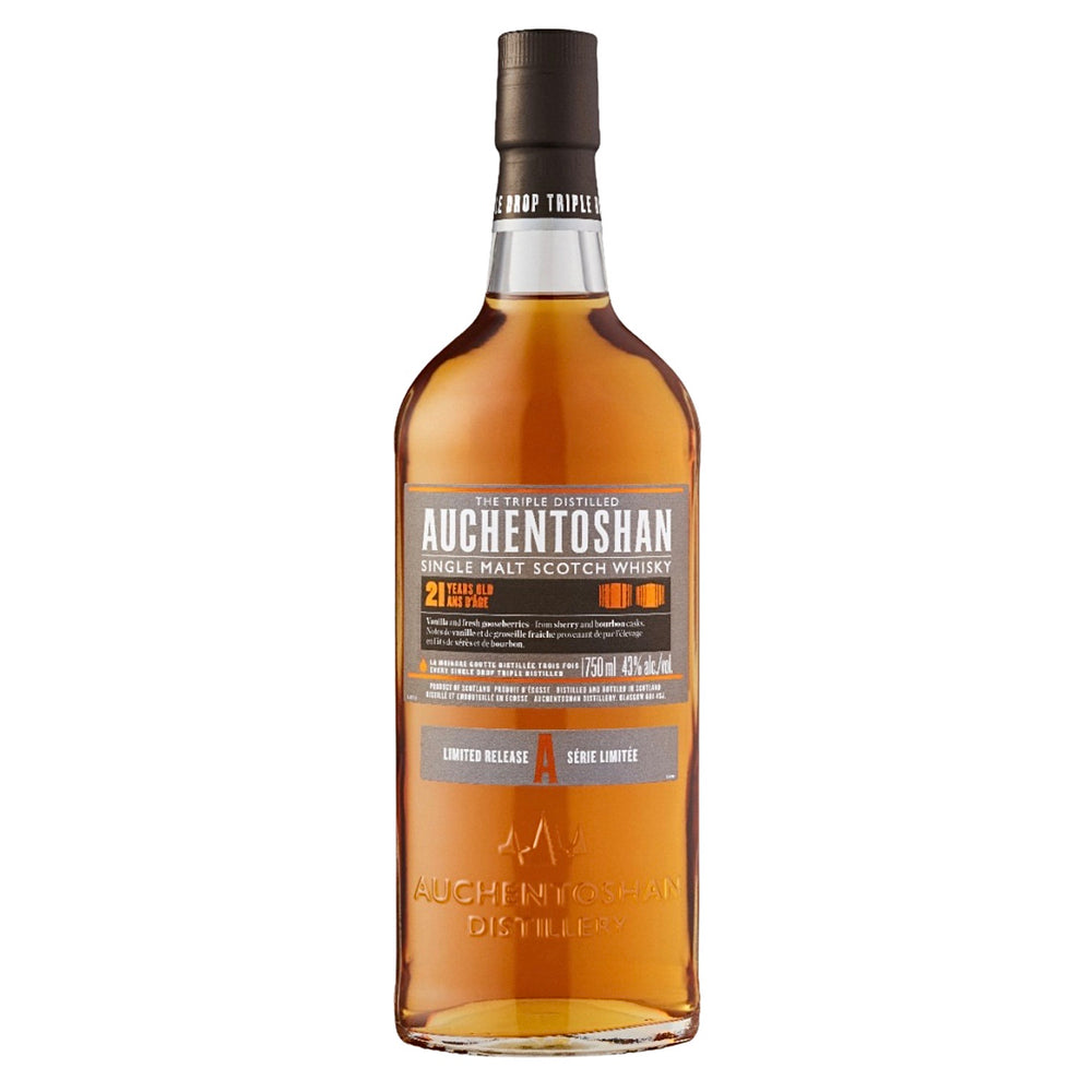 Load image into Gallery viewer, Auchentoshan 21 years old Single Malt Whisky