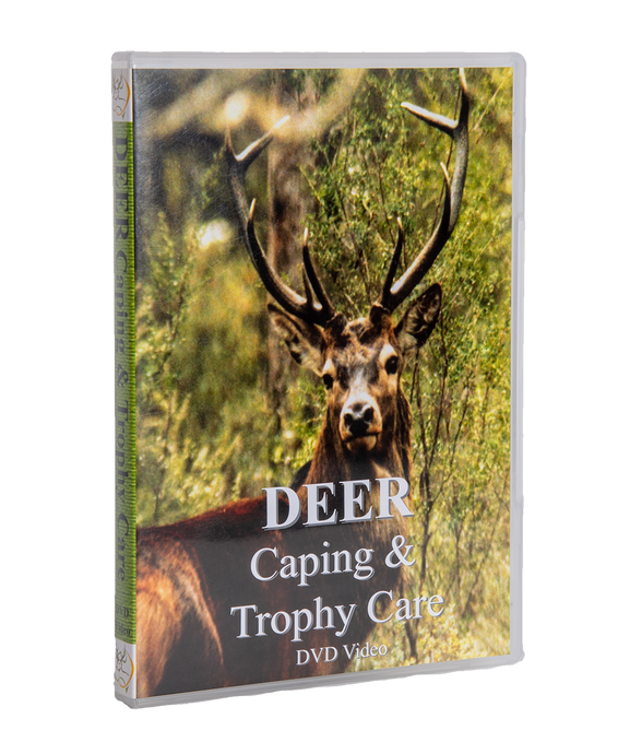 Deer Caping & Trophy Care DVD