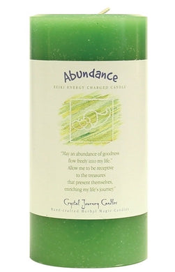 Abundance Herbal Magic 3x6 Pillar