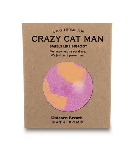 A Bathbomb for Crazy Cat Man