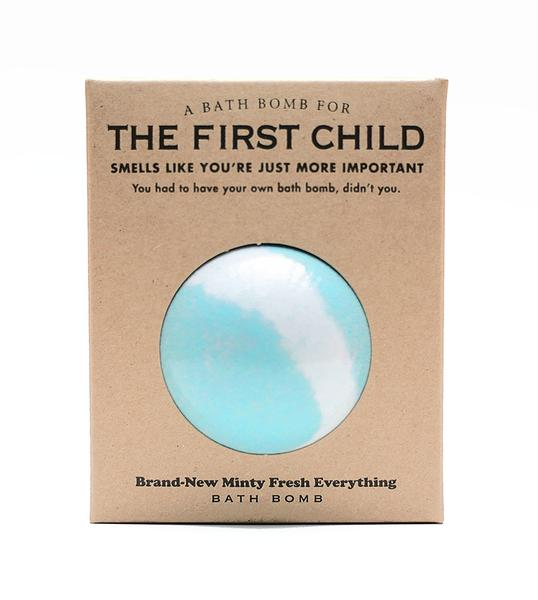 A Bathbomb for The First Child
