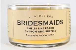 A Candle for Bridesmaids