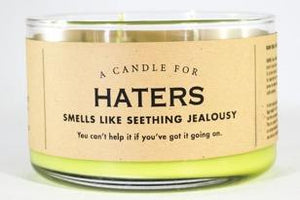 A Candle for Haters