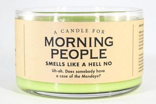 A Candle for Morning People