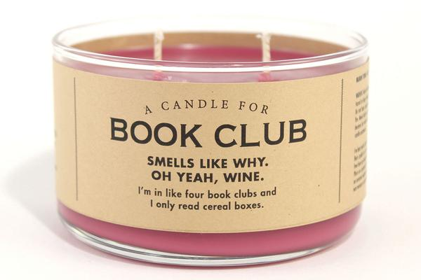 A Candle for Book Club