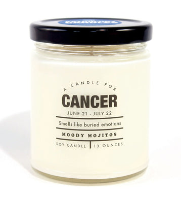 Cancer Astrology Candle