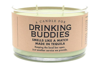 A Candle for Drinking Buddies