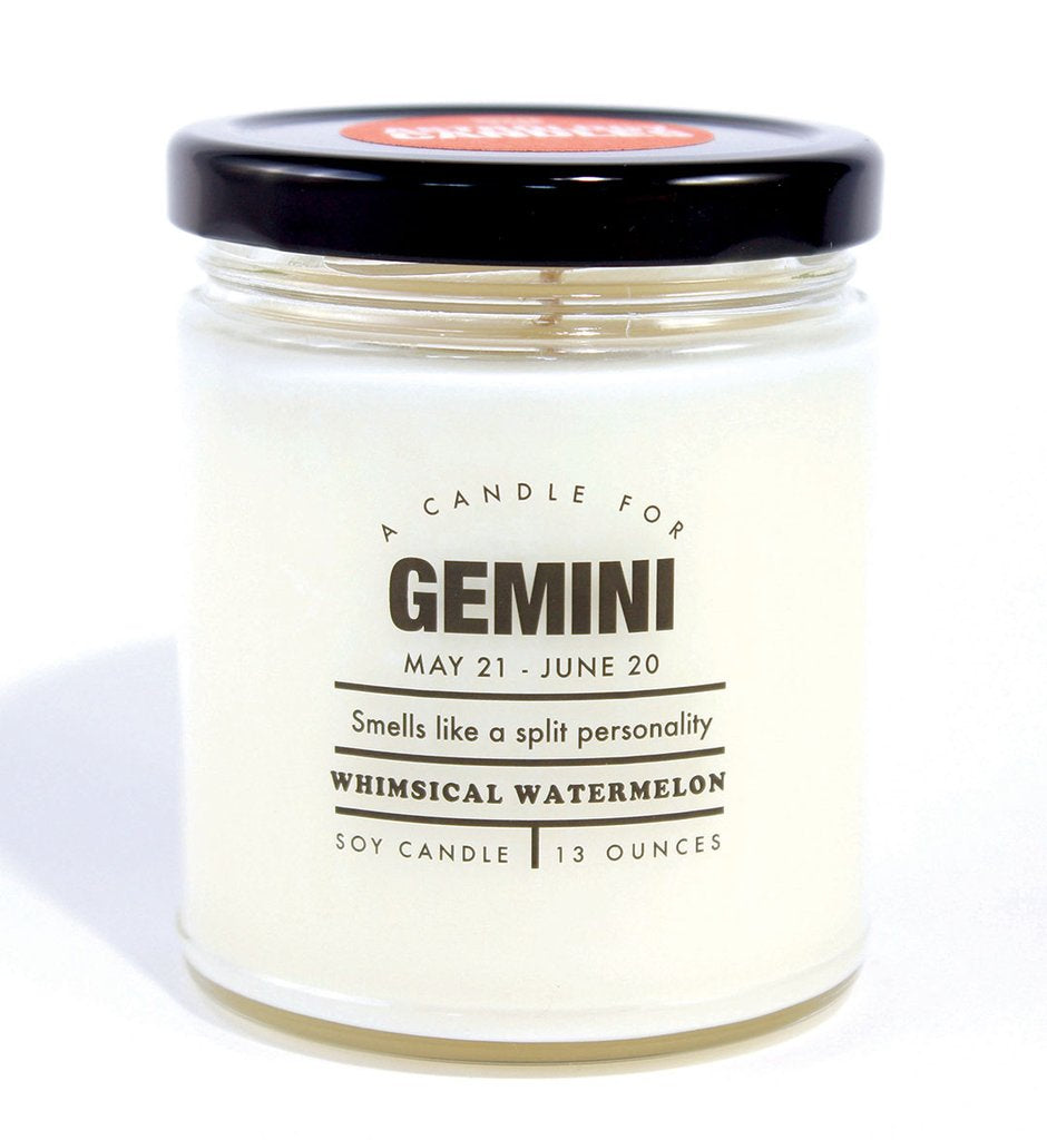 Gemini Astrology Candle