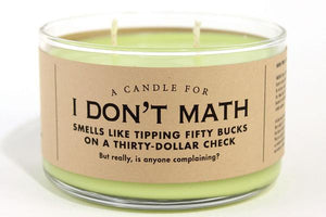 A Candle for I Don't Math