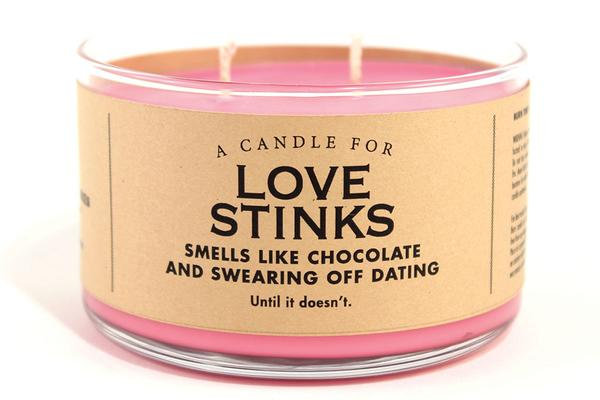 A Candle for Love Stinks