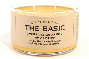 A Candle for The Basic