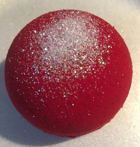 Extra Large Cranberry Glacé Bath Bomb
