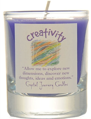 Creativity Herbal Magic Filled Votive Holders
