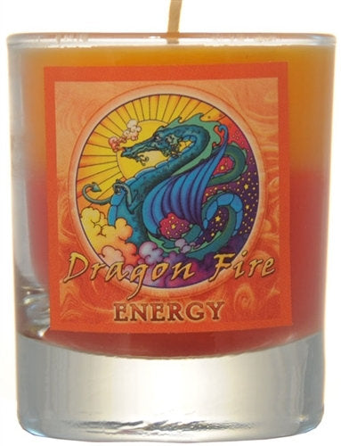 Energy Mandala Filled Votive Holders