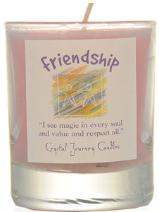 Friendship Herbal Magic Filled Votive Holders