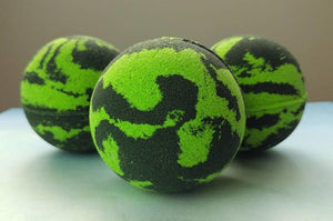 Green Eyed Monster Bath Bombs