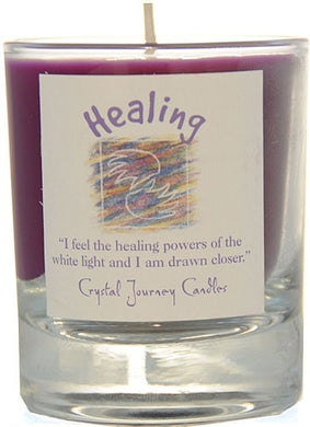 Healing Herbal Magic Filled Votive Holders