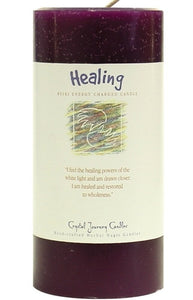 Healing Herbal Magic 3x6 Pillar