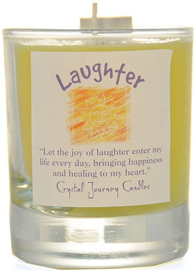 Laughter Herbal Magic Filled Votive Holders