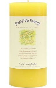 Positive Energy Herbal Magic 3x6 Pillar