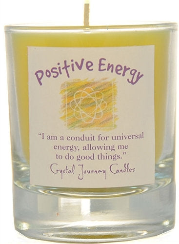 Positive Energy Herbal Magic Filled Votive Holders