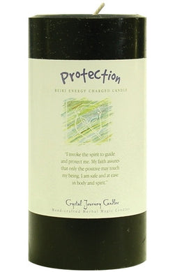 Protection Herbal Magic 3x6 Pillar