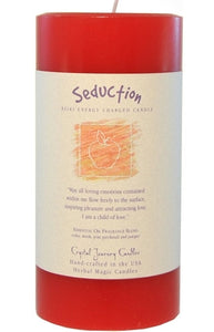Seduction Herbal Magic 3x6 Pillar