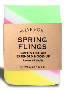 Soap for Spring Flings