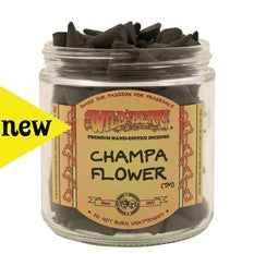Wild Berry Champa Flower Incense Cones