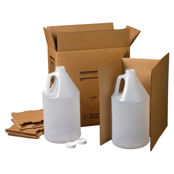 4G 2 x 1 HDPE Industrial Gallon Kit