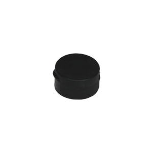 CAP, 28/400 BLACK ZEL SNAP DISP, RIBBED, PRESSURE SEAL LINED W/.715 ORIFICE <b>(3500 Units / Case)</b>