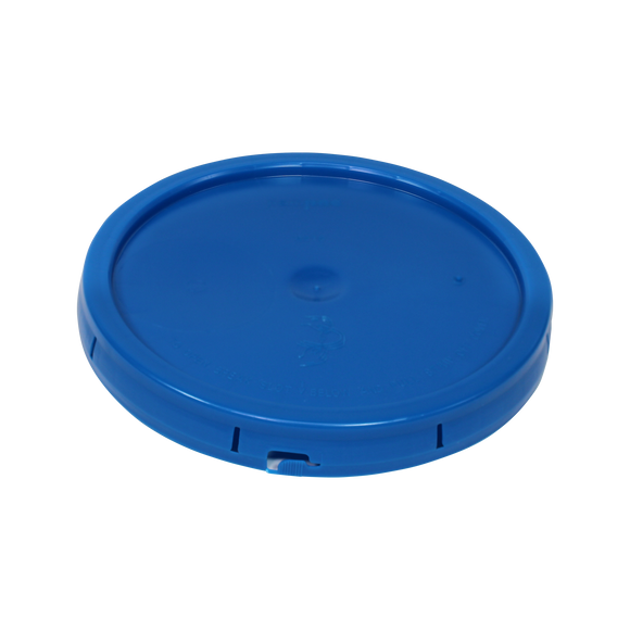 LID 5 GAL SUNBLUE PLAIN TEARTAB <b>(120/Pallet)</b>