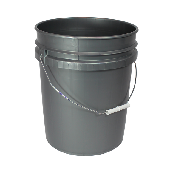5 GAL OPEN HEAD, SILVER PAIL WITH CWL HS GOLD <b>(120/Skid)</b>