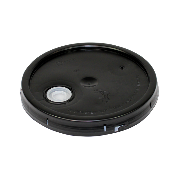 5 GALLON BLACK TINT PLUG LID <b>(240/Skid)</b>
