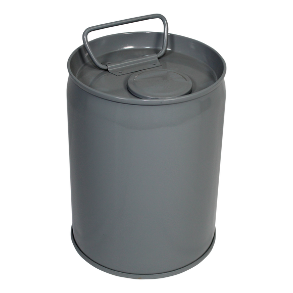 Epoxy-Lined Closed-Head Steel Pail w/ Rieke Opening - 1-Gallon - (1A1-1L)