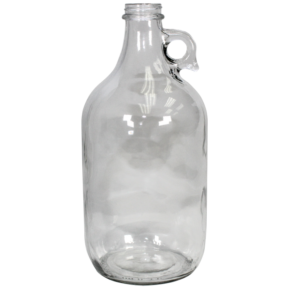 64-Ounce Glass Bottle (Narrow Mouth, Flint) - (1G-64F)