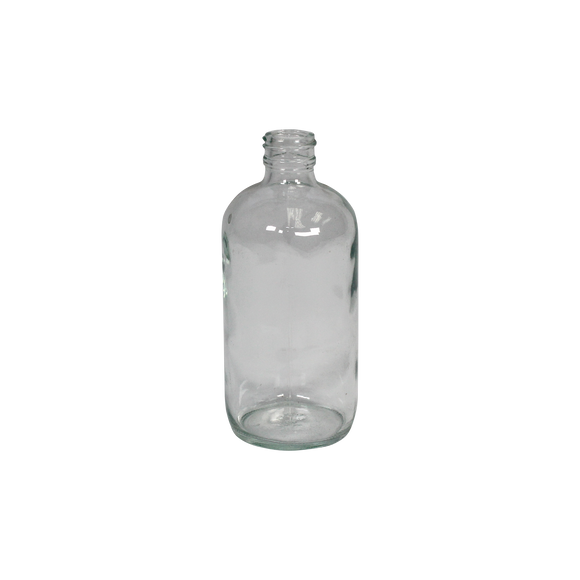 8-Ounce Glass Bottle (Narrow Mouth, Flint) - (1G-8F)