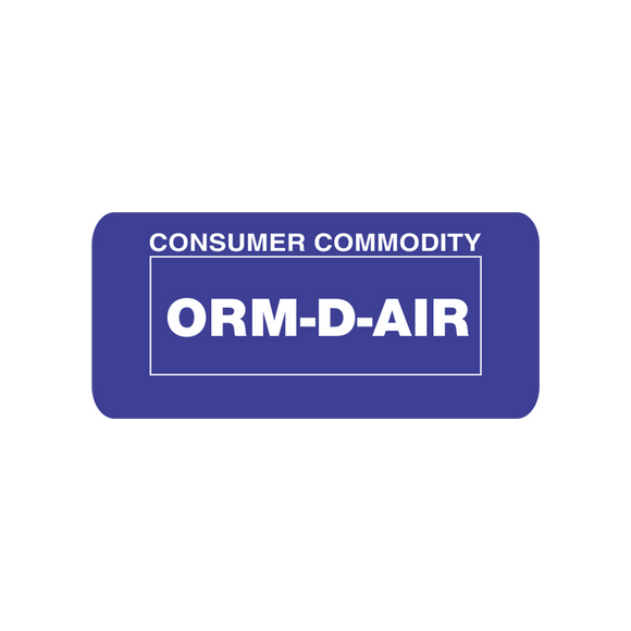 ORM-D Shipping Labels - (DGORMDS)