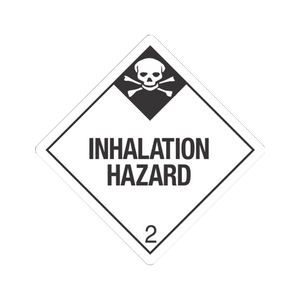 "Class 2 Inhalation Hazard Tagboard Placards (25 pack, 10""x10"") - (DGPT23IH)"