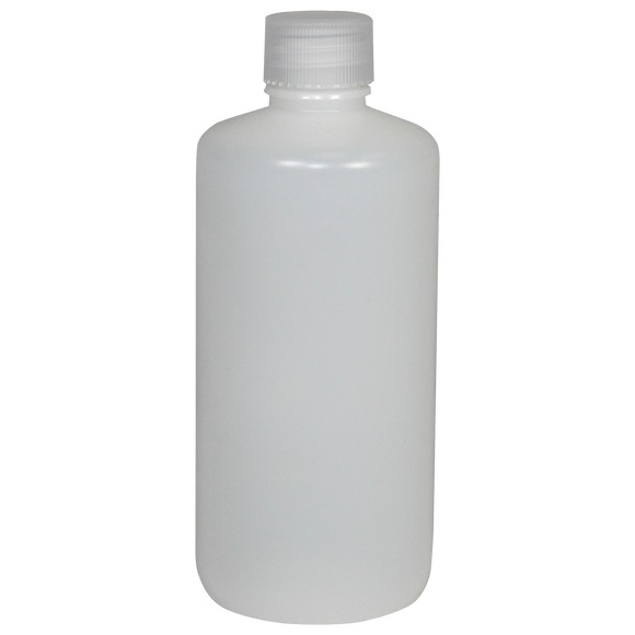 Narrow-Mouth 16-Ounce HDPE Bottle - (IP2-1-16)