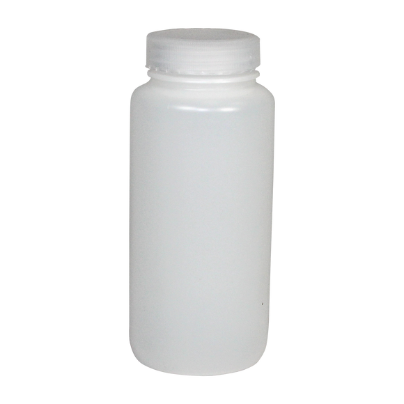 Wide-Mouth 16-Ounce HDPE Bottle - (IP2-2-16)